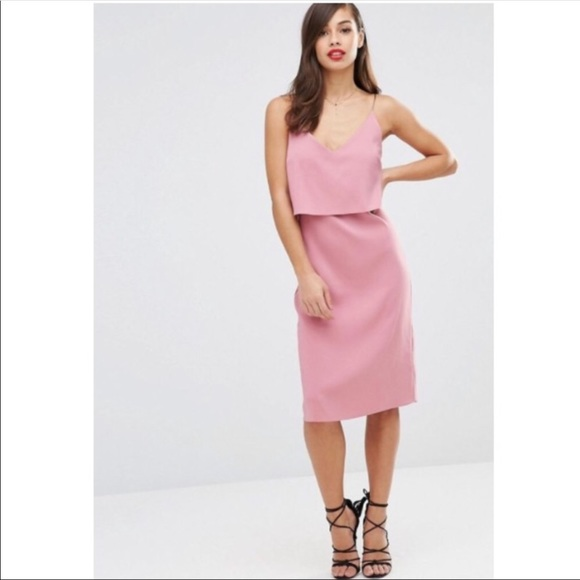 7c8166a882cb ASOS Dresses & Skirts - ASOS dusty rose slip dress